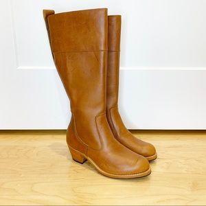 Adelante Caramel Leather The Condesa Riding Boots